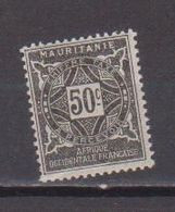 MAURITANIE         N°  YVERT   TAXE 22  NEUF AVEC CHARNIERES      ( CHARN  03/ 37 ) - Unused Stamps