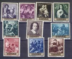 ESPAÑA SEGUNDO CENTENARIO SERIES Nº 1270/79** MURILLO - 1951-60 Neufs