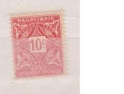 MAURITANIE         N°  YVERT   TAXE 18   NEUF AVEC CHARNIERES      ( CHARN  03/ 37 ) - Unused Stamps