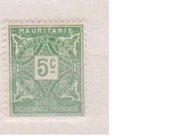 MAURITANIE         N°  YVERT   TAXE 17   NEUF AVEC CHARNIERES      ( CHARN  03/ 37 ) - Unused Stamps