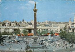 CPSM Trafalgar Square-London-Beau Timbre    L1005 - Trafalgar Square