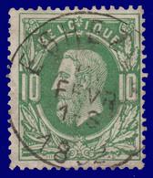 """N°30 - Belle Oblitération """"EGHEZEE"""" - 1869-1883 Leopold II"""