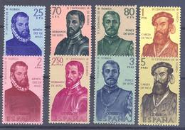 ESPAÑA SEGUNDO CENTENARIO SERIES Nº 1298/05** FORJADORES - 1951-60 Neufs