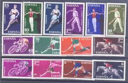 ESPAÑA SEGUNDO CENTENARIO SERIES Nº 1306/19** DEPORTES - 1951-60 Neufs