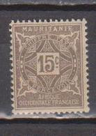 MAURITANIE               N° YVERT  :  TAXE 19   NEUF SANS GOMME        ( SG     02/06  ) - Unused Stamps