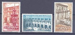 ESPAÑA SEGUNDO CENTENARIO SERIES Nº 1322/25 ** MONASTERIO DE SAMOS - 1951-60 Neufs
