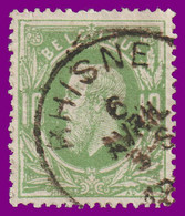 "N°30 - Belle Oblitération ""RHISNE"" - 1869-1883 Leopold II"