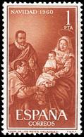 ESPAÑA SEGUNDO CENTENARIO SERIES Nº 1325 ** NAVIDAD - 1951-60 Neufs