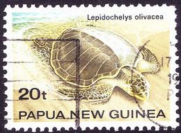 PAPUA NEW GUINEA 1984 20t Multicoloured Turtles SG475 FU - Papua New Guinea