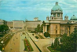 CPSM Beograd-Savezna Skupstina-Beau Timbre    L1005 - Yugoslavia