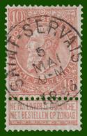 """N°57 - Belle Oblitération """"SAINT-SERVAIS"""" - 1893-1900 Fine Barbe"""