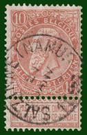 "N°57 - Belle Oblitération ""SALZINNE ((NAMUR)"" - 1893-1900 Fine Barbe"