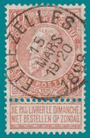 "N°57 - Très Belle Oblitération ""ELLEZELLES"" - 1893-1900 Fine Barbe"