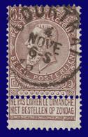 "N°61 - Belle Oblitération ""COURTRAI"" - 1893-1900 Fine Barbe"