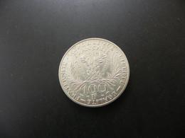 France 100 Francs 1984 Marie Curie - Silver - N. 100 Francs