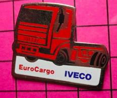 419 Pin's Pins / Beau Et Rare / THEME : TRANSPORTS / CAMION EUROCARGO IVECO - Transportation