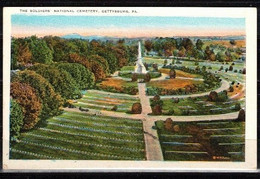 500g * THE SOLDIERS NATIONAL CEMETERY * GETTYSBURG **! - Unclassified