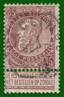 """N°61 - Belle Oblitération """"LA - CLINGE"""" - 1893-1900 Fine Barbe"""