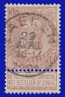 """N°61 - Belle Oblitération """"LAEKEN"""" - 1893-1900 Fine Barbe"""