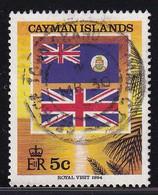 Cayman Islands 1994, Flags, Minr 702 Vfu - Cayman Islands