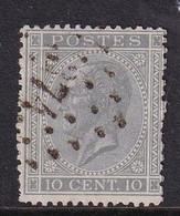 Belgium 1865, Minr 14-a Vfu - 1865-1866 Profil Gauche