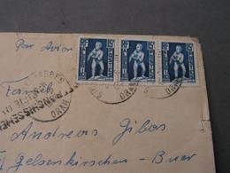 Oran Brief Nach Gelsenkirchen 1954 - Covers & Documents