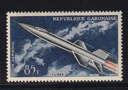 Gabon 1962, Space Minr 178 MNH. Cv 4 Euro (brownish Backside) - Gabon (1960-...)