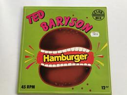 TED BARYSON - Hamburger - MAXI 45t - 1979 - FRENCH Press - Disco & Pop