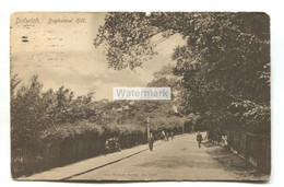 Dulwich - Dogkennel Hill - Old London Postcard - London Suburbs