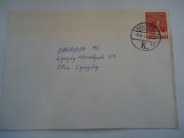 DENMARK COVER 1973   KOBENHAVN K19 - Maximum Cards & Covers