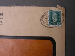 Bahnpost Chemnitz Und Perfin - Covers & Documents