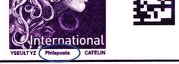 France 2021 - Yv N° 1656a (type II) ** - Marianne L'engagée - International  -  (avec La Mention Philaposte) - Unused Stamps
