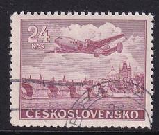 Chechoslvakia 1946, Aviation, Minr 499 Vfu - Used Stamps