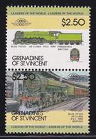 St. Vincent Grenadines , $5 Trains MNH - St.Vincent & Grenadines