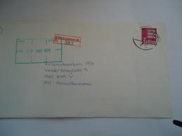 DENMARK REGISTERED   COVER 1979  KOBENHAVN  46 - Maximum Cards & Covers