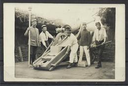 Carte P De 1917 ( Tir Au Canon ) - Ausrüstung