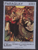 Paraguay 1967, Minr 1707 MNH. Cv 7,50 Euro - Paraguay