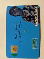 TELECARTE FRANCE TELECOM  50 PUBLICITE SANOFI PETIT GARCON - Advertising