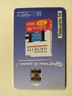 TELECARTE FRANCE TELECOM  50 HACHETTE LIVRE - Advertising
