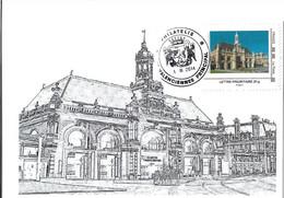Mon-timbre-à-moi GARE De VALENCIENNES - Covers & Documents