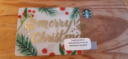 Starbucks Gift Card Poland - 2016 0226 Christmas - Gift Cards