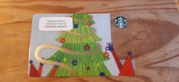Starbucks Gift Card Poland - 2018 0570 Christmas - Gift Cards