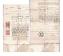 CHARLEROI  Registre Mariage  1906 - Wetten & Decreten