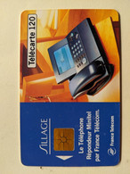 TELECARTE FRANCE TELECOM  120 PUBLICITE TELEPHONE SILLAGE - Advertising