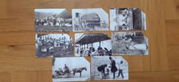 Phonecard Set Of 8, Italy - Historic Photo, Antichi Mestieri - Private-Omaggi