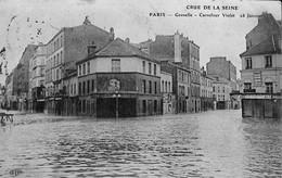 036 141 - France (75) Paris - Crue De La Seine - Grenelle - Carrefour Violet - Überschwemmung 1910