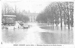 036 142 - France (75) Paris - Paris Inondé - Champs-Elysées Et Le Petit Palais - Überschwemmung 1910