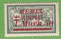 MiNr.101 X  Deutschland Deutsche Abstimmungsgebiete Memelgebiet - Klaipeda
