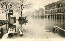 036 143 - France (75) Paris -Inondations De Paris - Quai De La Rapée - Überschwemmung 1910