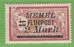 MiNr.102 X  Deutschland Deutsche Abstimmungsgebiete Memelgebiet - Klaipeda